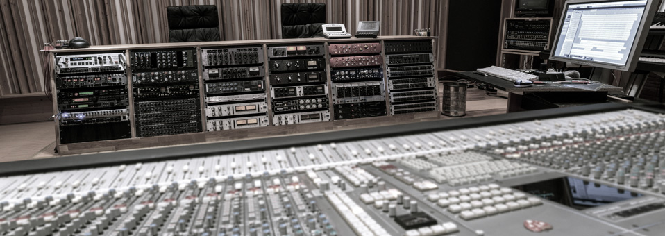 control room, Tonregie, effect rack
